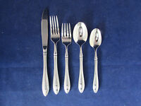 Oneida LTD Stainless Flatware SHERATON 5pc Place Setting - Made in the USA