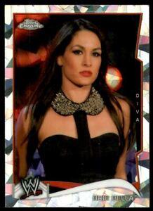 2014 Topps Chrome WWE Atomic Refractors #7 Brie Bella