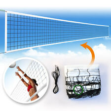 New 32ftx3ft Volleyball Net Official Size Beach Indoor Outdoor High Quality