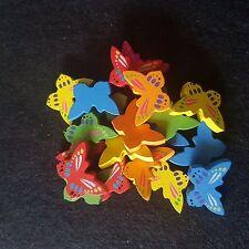 Perlas de Mariposa de Madera-Fabricación de Joyas-Joyas Para Niños-granos de la novedad