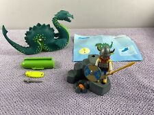 Retired Playmobil 3155 Viking & Sea Serpent Nessie/Loch Ness Monster Set