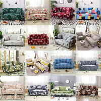 1 2 3 4 Seater Stretch Chair Sofa Cover Elastic Couch Cover Slipcover Protector