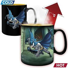More details for official dc comics batman & joker heat changing mug coffee cup new in box aby *