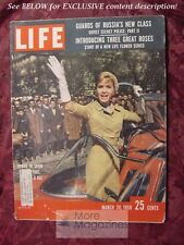 LIFE magazine March 30 1959 DEBBIE REYNOLDS PRIZE ROSES BILL VEECK