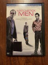 Matchstick Men Dvd Movie Film Nicholas Cage Dvd Sam Rockwell