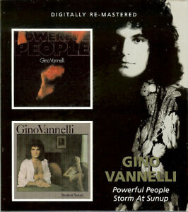 Gino Vannelli - Powerful People / Storm At Sunup (2009 Remaster)  CD NEW/SEALED