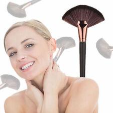 1pc Fan Shape Pro Makeup Cosmetic Brush Blending Highlighter Contour Face Powder