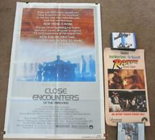 Close Encounters of the Third Kind One-Sheet + Raiders Lost Ark Movie Stunts