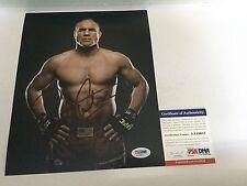 Randy Couture Signed 8x10 Photo PSA DNA COA UFC MMA b
