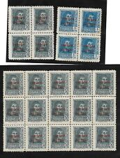 España-845/46- Serie en Bloque de 4 y bloque de 15 sellos del 845