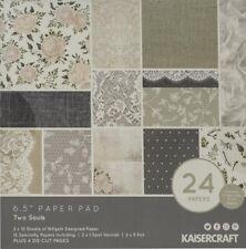 Kaisercraft 'Two Souls' Paper Pad 6.5 x 6.5 scrapbook paper