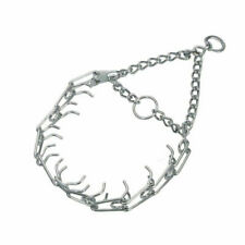 Herm Sprenger 00051G3018 16 inch Pinch Collar - Silver