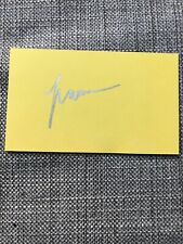 Cat Stevens (Yusuf Islam) HAND SIGNED Autograph Father And Son Tea Tillerman 3x5