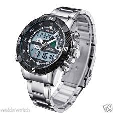 Imported  Weide WH-1104 BLACK Dial quartz digital dual time Men Watch