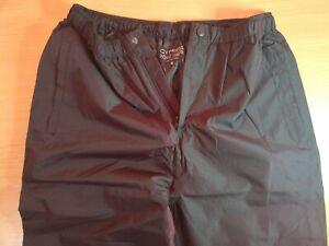 Cypress Point Waterproof Trousers - Mens Medium - Black
