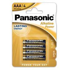 Pack 4 Pilas Cilindricas Original PANASONIC AAA de 1,5V Alcalina Blister b30