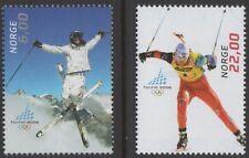 NORWAY Sc. 1458-9 Turin Olympics 2006 MNH
