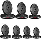 """Cast Iron Weight Plates 1"""" Hole Disc Dumbbell Barbell Weight Fitness Training 2."""