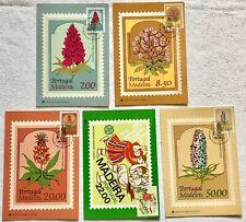 5 tolle Maximumkarten MK Madeira PORTUGAL aus 1981