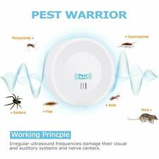 6x Pest Repeller Reject Ultrasonic Electronic Mouse Rat Mosquito Insect Control