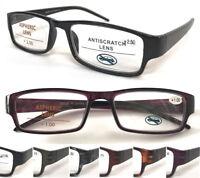L370 Superb Quality Reading Glasses & Spring Hinge & Classic Simple Comfy Design