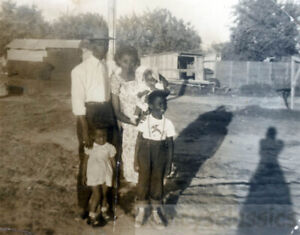 1950s AFrican American Louise & Family San Antonio