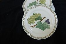 "Noritake Primachina Lot of 4 6-3/4"" Saucer Bread Plates Royal Orchard 9416 Japan"