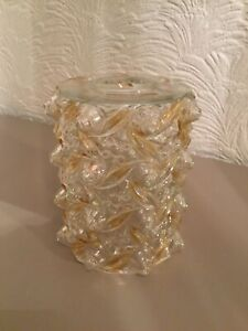 Fabulous Vintage MCM Hobnail Glass Light Shade #5205