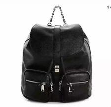 Steve Madden Bboken Chain Purse Black DESIGNER Handbag Backpack
