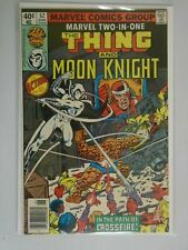 Marvel Two-in-One #52 Thing and Moon Knight 6.0 FN (1979 1st Series)