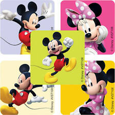 25 Disney Mickey Minnie Mouse Stickers Party Favors  Teacher Supply Goofy Pluto