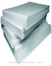 40 Bl. Etiketten Aufkleber DIN A4 selbstklebendes Papier 210 x 297mm weiß matt