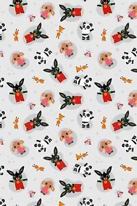 Bing Bunny Hoppity Voosh Fleece Blanket Bed Throw Matches Bedding