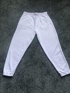 Mens Lilac Zara Joggers XL