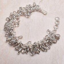 Jewelry 51 Gms Ab 71389 Rose Quartz Ethnic Handmade Bracelet