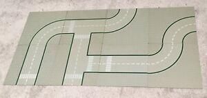 Lego Classic Town 32x32 base road plates x8 - 9 stud