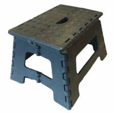 2 x Tritthocker grau / klappbar faltbar Tritt 150 kg Steighilfe 22 x 31 x 22 cm