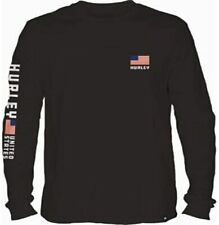 Hurley Mens Premium Destination Long Sleeve T-Shirt