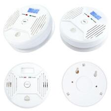 Smoke Alarm CO Carbon Monoxide Detector Poisoning Gas Warning Sensor Monitor New