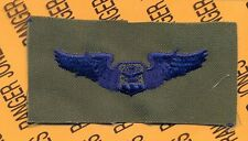 USAF Air Force Navigator Observer Aviation Aircrew wing cloth patch
