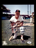 Boog Powell PSA DNA Coa Hand Signed 8x10 Photo Autograph
