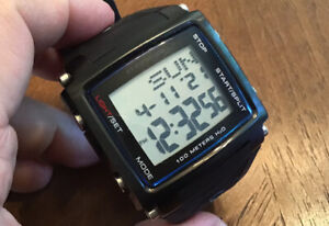 Freestyle FS81322 The Lopex III Men's 44mm Square Digital Watch New Battery
