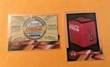 2 PC LOT COCA - COLA CALLING CARDS 1930 1935 # 33 & # 40