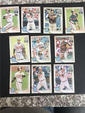2018 Topps Gypsy Queen Baltimore Orioles Team Set 9 Cards Hays RC Sisco RC