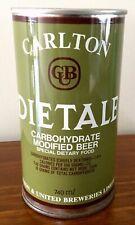 Carlton Dietale. CUB. 740ml. Straight Steel.  Beer Can.