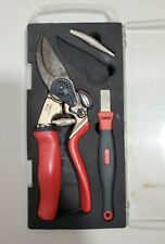 Barnel B318cs Collection 8 in Rotating Handle Bypass Pruner W/Sharpener