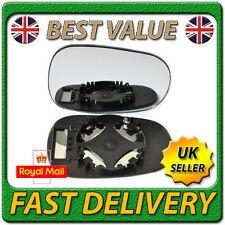 Right Driver Off Side Convex Wing Mirror Glass for RENAULT CLIO MK2 1994-2000