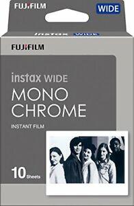 Fujifilm Instax Wide Monochrome Film - 10 Exposures