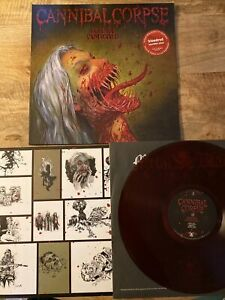 Cannibal Corpse Violence Unimagined Bloodred Marbled Vinyl Sold Out