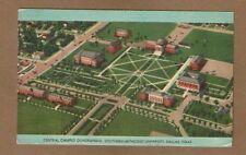 Dallas,TX Texas,Southern Methodist University, Central Campus Quadrangle u-1947
